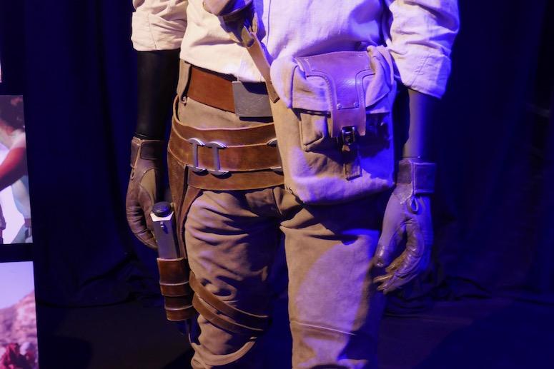 Poe Dameron costume detail Star Wars Rise of Skywalker