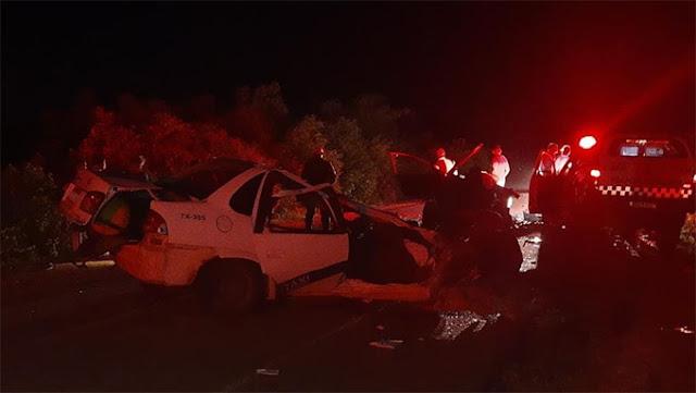 Duas pessoas morrem em grave acidente na RN-117, próximo de Governador Dix-Sept  Rosado