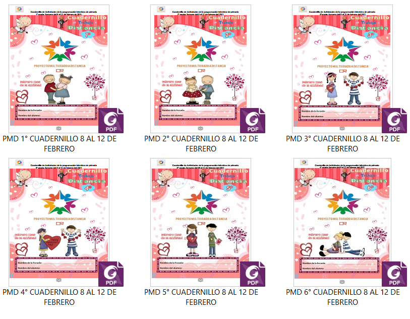 📖 Semana 22 - Multigrado - Aprende en Casa SEP - Cuadernillo de Actividades de Aprende en Casa SEP ✅🥇