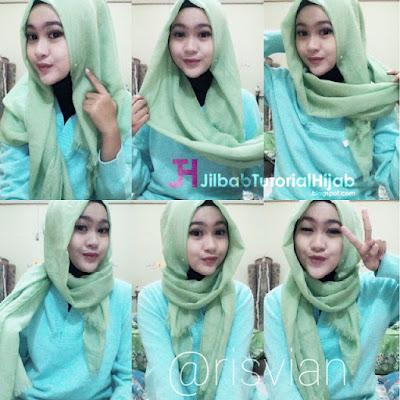 Tutorial Style Hijab Pashmina Simple dan Praktis Terbaru