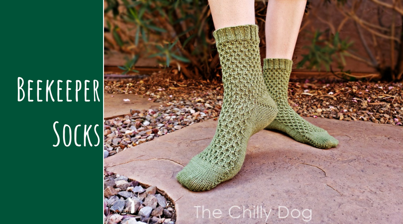 Pattern Release Beekeeper Socks The Chilly Dog