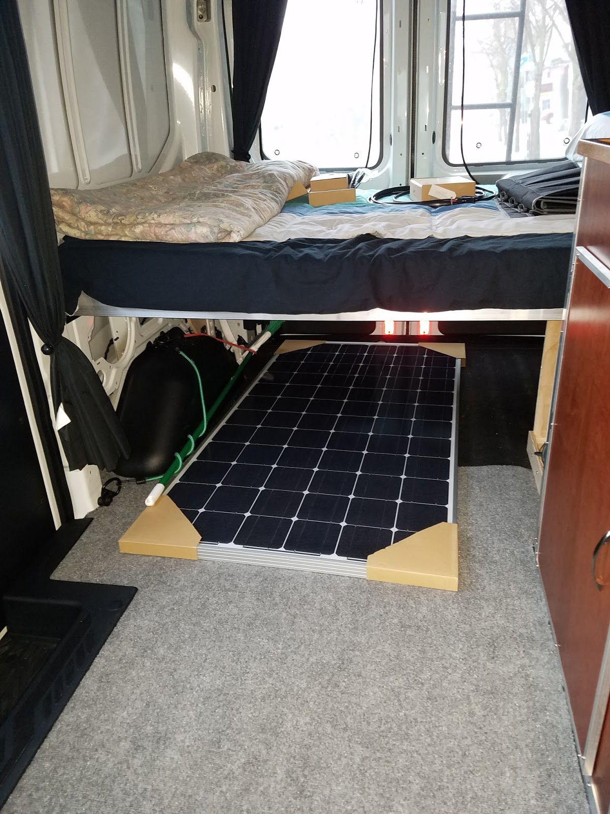 Our First Attempt To Build A Simple But Comfy Campervan