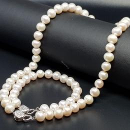 قلادة لؤلؤ , والاحجار الكريمة , وورق الذهب مجوهرات | Jewelry Pearl Necklace