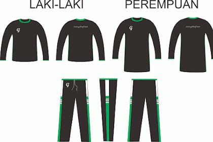 Download Template Pakaian Olahraga Format CDR, Bisa Diedit