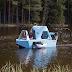 Zeltini Z-Triton is Electric Camper Trike Cum Boat