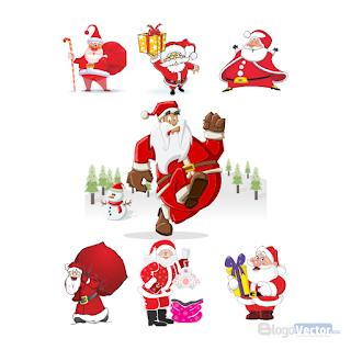 Santa Claus Logo vector (.cdr)
