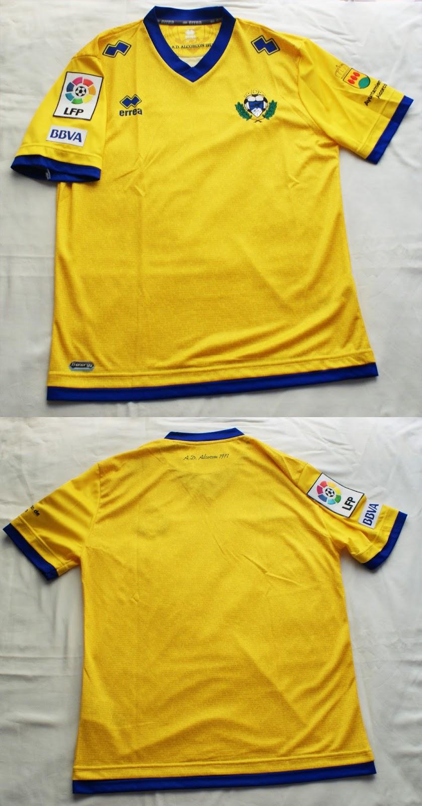 1º Camiseta A.D.A Alcorcón 2013 2014 08b0046a7dd6c
