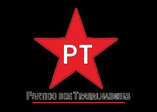 PT - Partido dos Trabalhadores Logo Vector