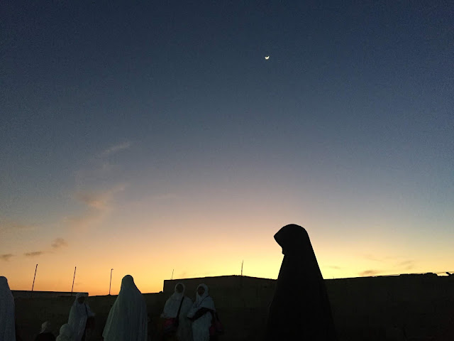 In The middle of nowhere, umrah feb 2018.