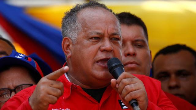 Diosdado Cabello critica postura de la oposición ante sanciones de EEUU