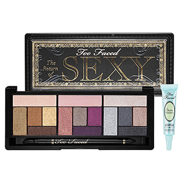 Too Faced Return of Sexy eyeshadow palette: A quick review