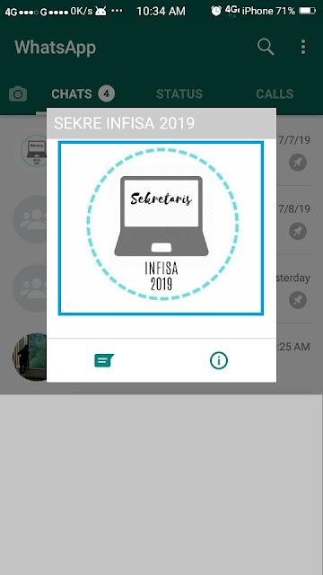 Cara Menyimpan Foto Profil Whatsapp - 2