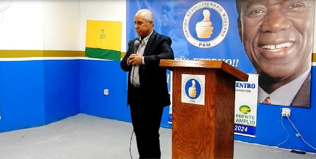 Elido Pérez asegura el gobierno estafa a los habitantes de Salcedo