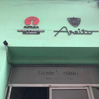 El patio areito. La Habana