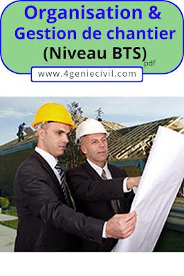 organisation et gestion de chantier pdf