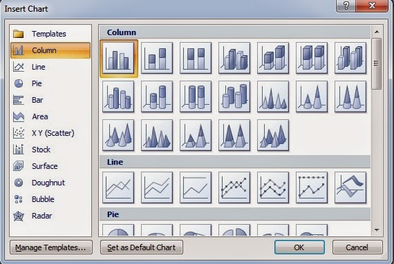 how to create histogram in word 2007
