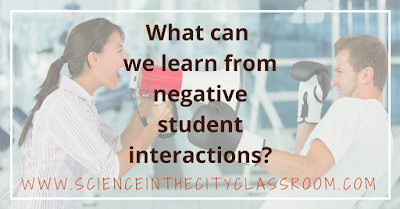 Reflection and suggestions on our role in student interactions