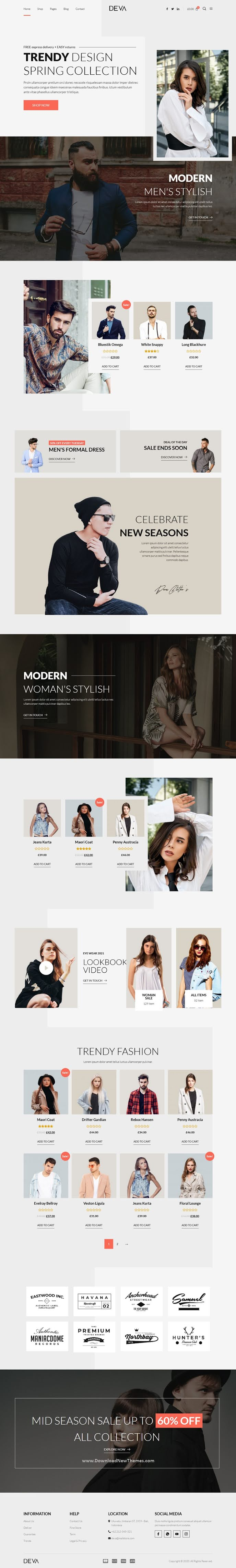 Fashion Store WooCommerce Elementor Template Kit
