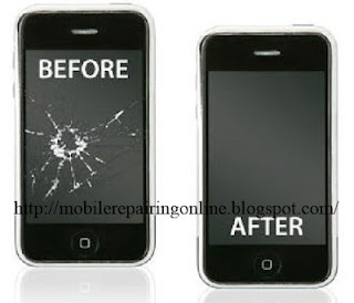 iPhone LCD fault solution