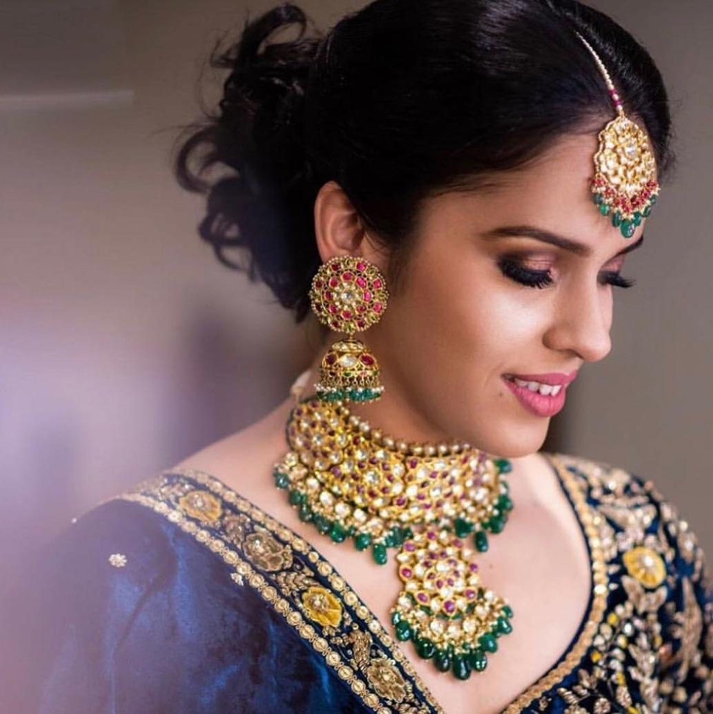 Saina Nehwal Wedding Jewellery