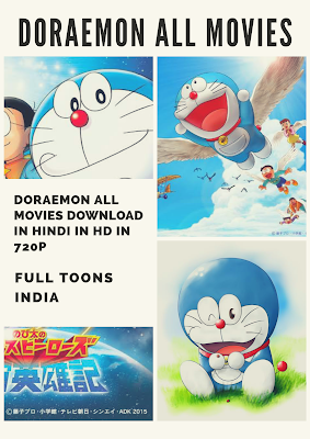 Doraemon All Hindi Dubbed  Movies Download In 720P, 1080P In Hd
