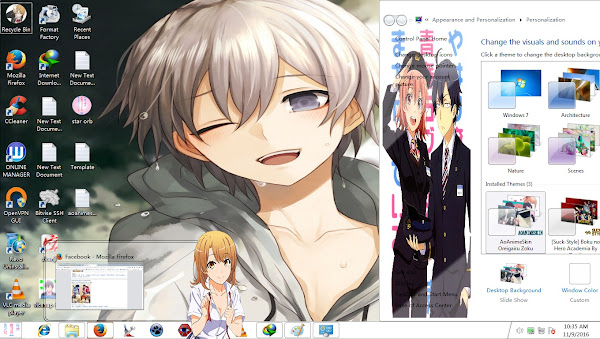 Theme Window 7 Oregairu Zoku By AoAnime 2