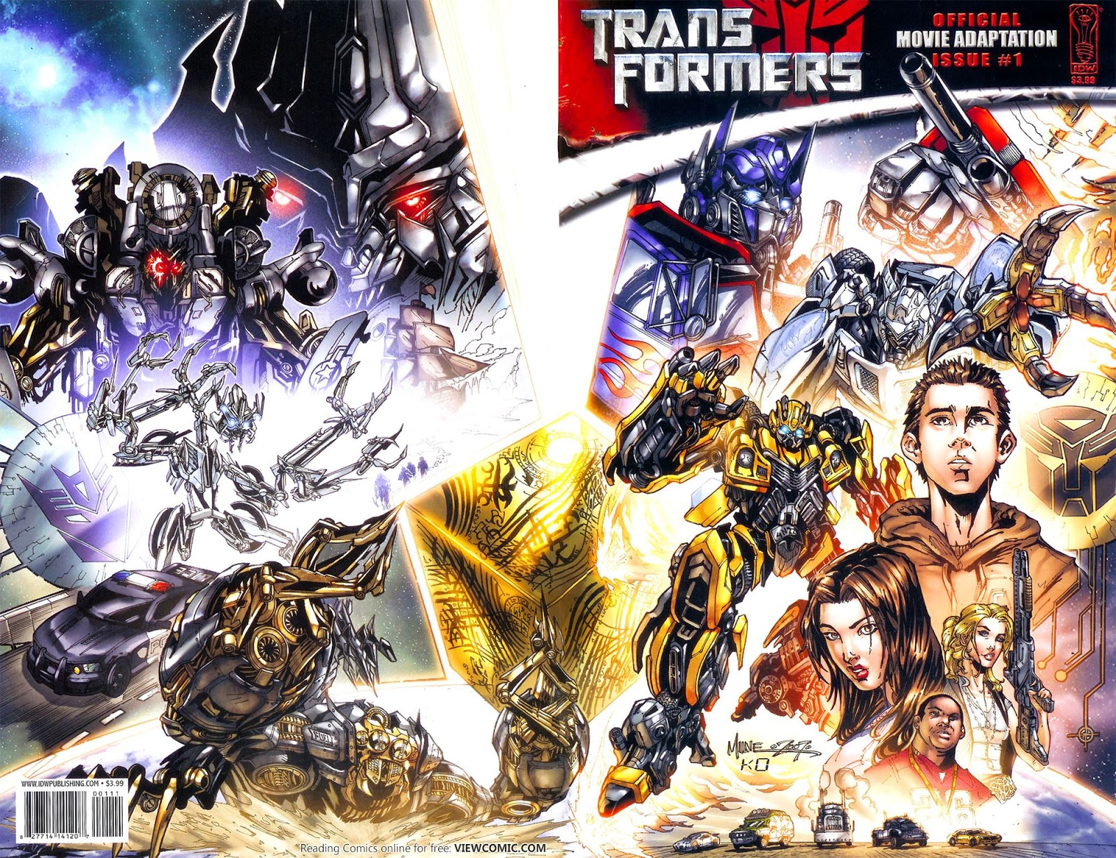Transformers – Movie Adaptation 01 (of 4) (2007) | Viewcomic