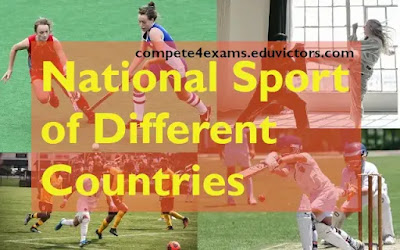 National Game of Different Countries - General Awareness (#staticgk)(#eduvictors)(compete4exams)(#ssc)#physicaleducation