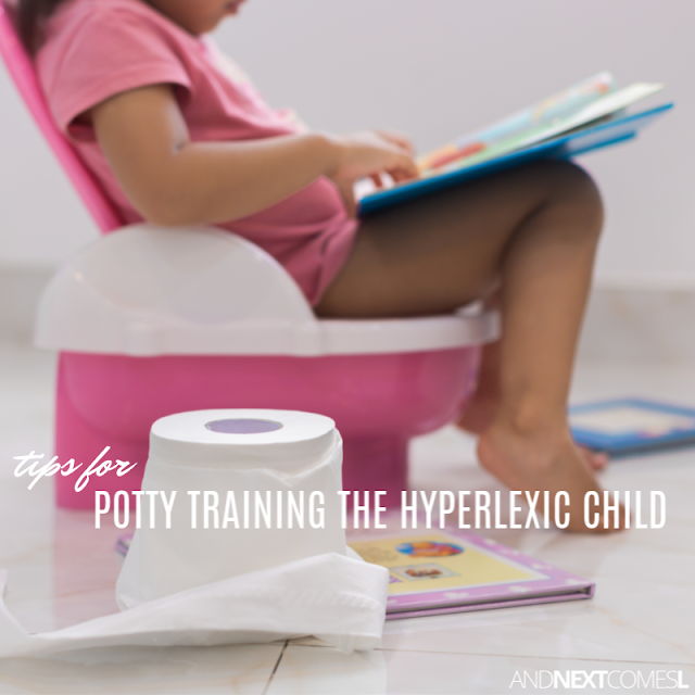 Potty training tips and strategies for kids with hyperlexia