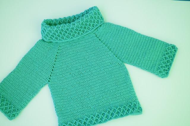 6 - Crochet Imagen jarsey de cuello alto a juego con falda a crochet y ganchillo por Majovel Crochet paso a paso