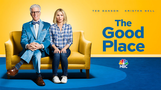 The Good Place, is a town where those who have been good throughout their life go to once they have passed away. Michael (Danson) is the architect who oversees the town. Eleanor (Bell) arrives at the Good Place and realizes she doesn't deserve to be there. With the help of Michael, Eleanor seeks to right her wrongs seeking to finally earn her place at the Good Place.