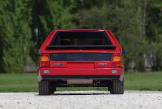 1985 Lancia Delta S4 Rear