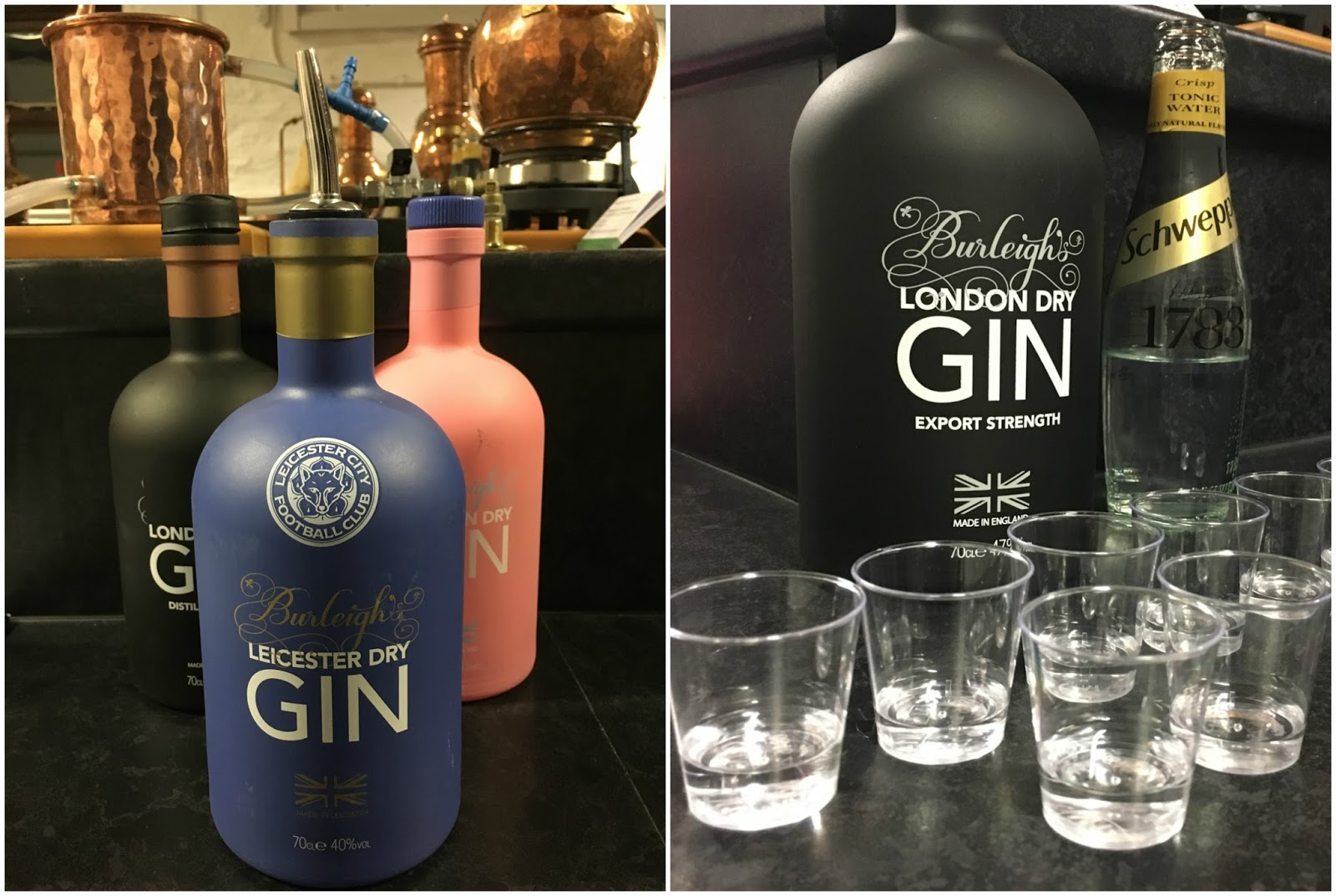 Burleighs gin tour \ gin selection \ Priceless Life of Mine \ over 40 lifestyle blogger