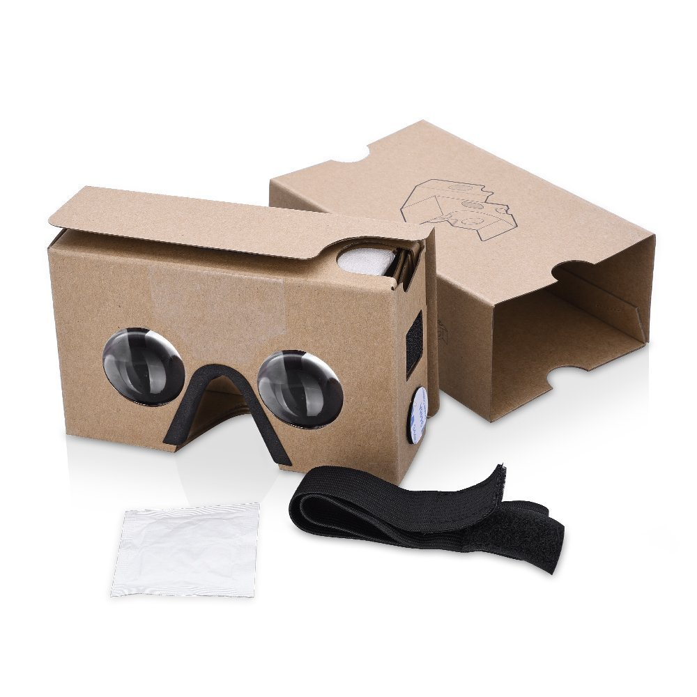 Patec Virtual Reality 3D Glasses with Suction Cups