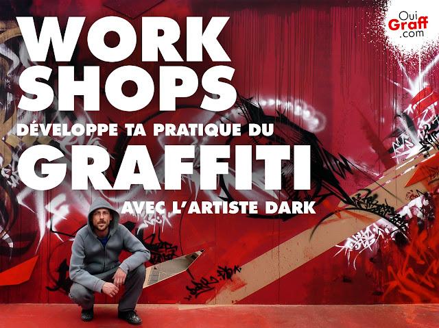 Atelier graffiti à Toulouse