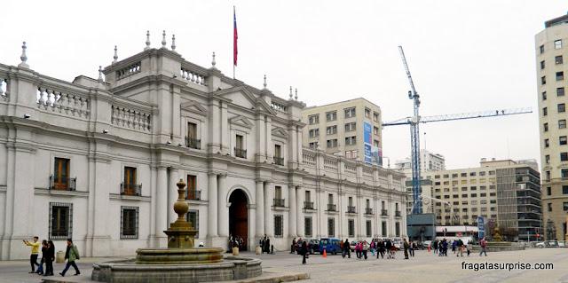 Palácio La Moneda, Santiago do Chile