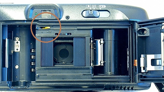 Canon Autoboy Tele 6, Half-frame configuration