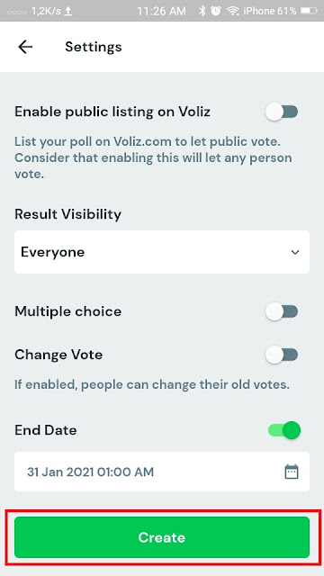 Cara Membuat Polling di Whatsapp 13