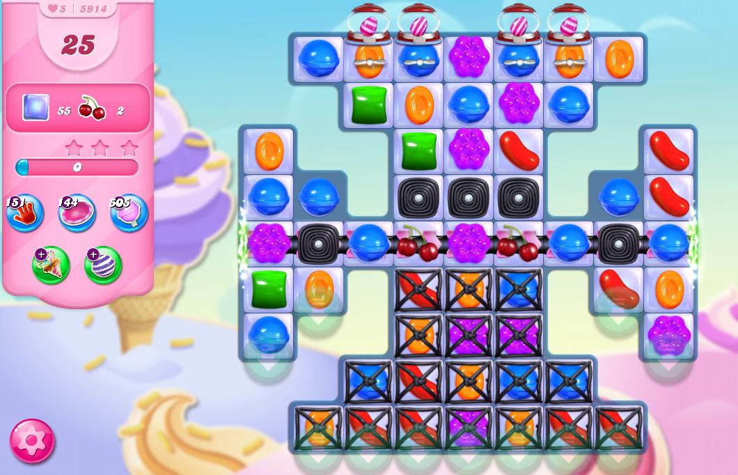 Candy Crush Saga level 5914