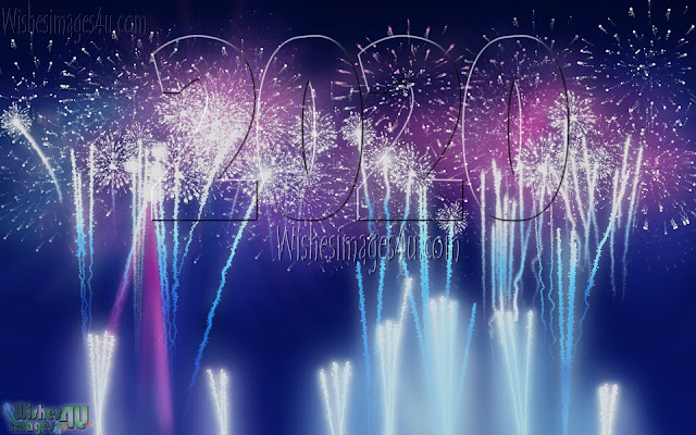 New Year 2020 Fireworks HD Pictures Download Free For Desktop