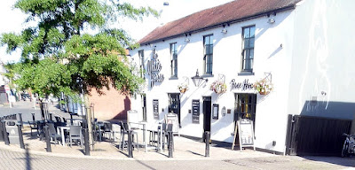 The J D Wetherspoon White Horse pub in Brigg town centre
