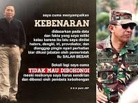 Sembako Bergambar Syamsul Arifin Diamankan Warga Jalan Puri, Ini Komentar Makjleb J.S Prabowo