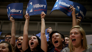 Here's Why You've Been Seeing a Lot More Hillary Clinton Supporters