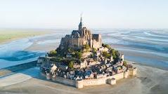 Le Mont-Saint-Michel, Normandy, France.