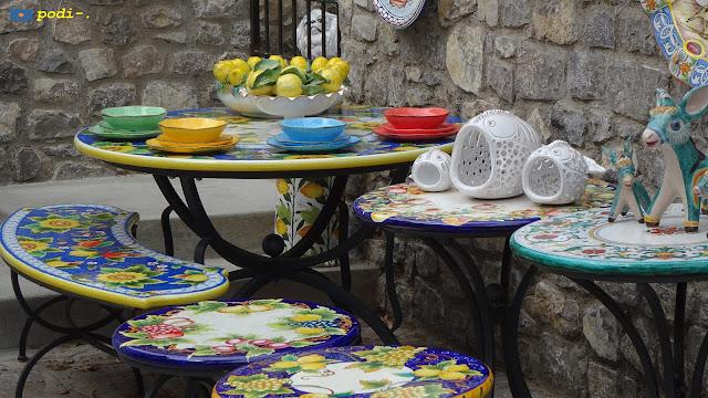 Ceramica fatta nella Costiera Amalfitana