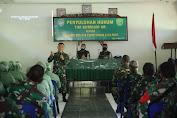 Tim Kumdam IM Berikan Penyuluhan Hukum Kepada Prajurit, PNS dan Persit Kodim 0102/Pidie