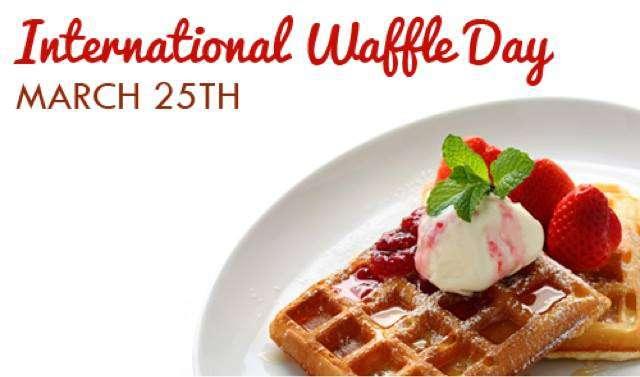 International Waffle Day Wishes Sweet Images