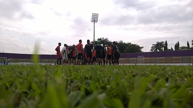 Derby Megono PERSIP VS PERSIBAT, Tanpa Supporter Persibat