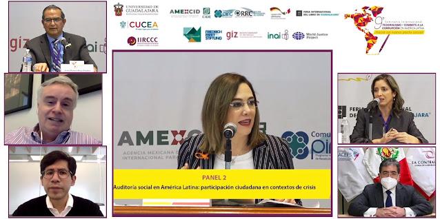 Información en materia de fiscalización, clave para activar controles sociales que contribuyan a combatir corrupción: Ibarra Cadena