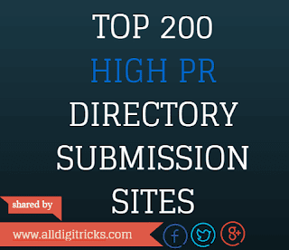 High PR Directory Submission Sites List